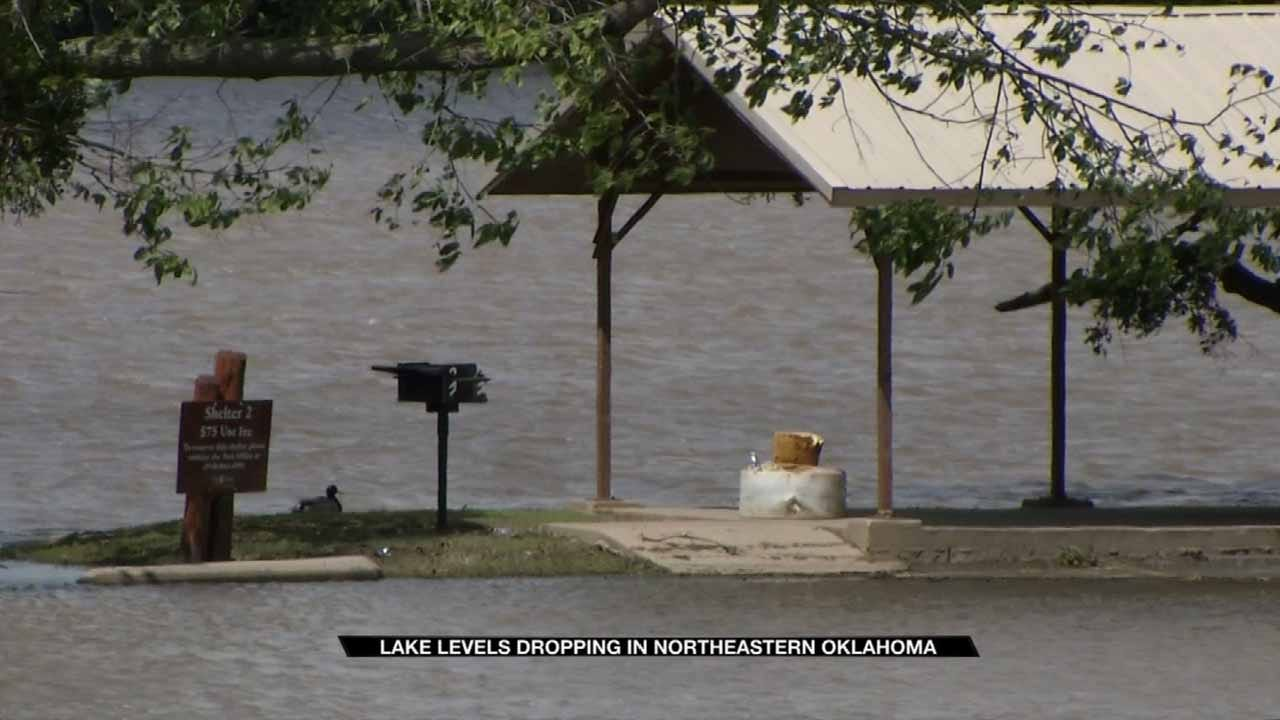 High Oklahoma Lakes Lowering In Time For Busy Weekend