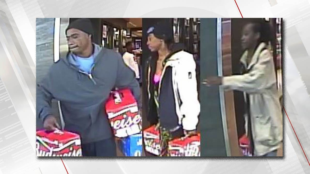 Police Ask For Help To ID Suspected Tulsa Beer Thieves
