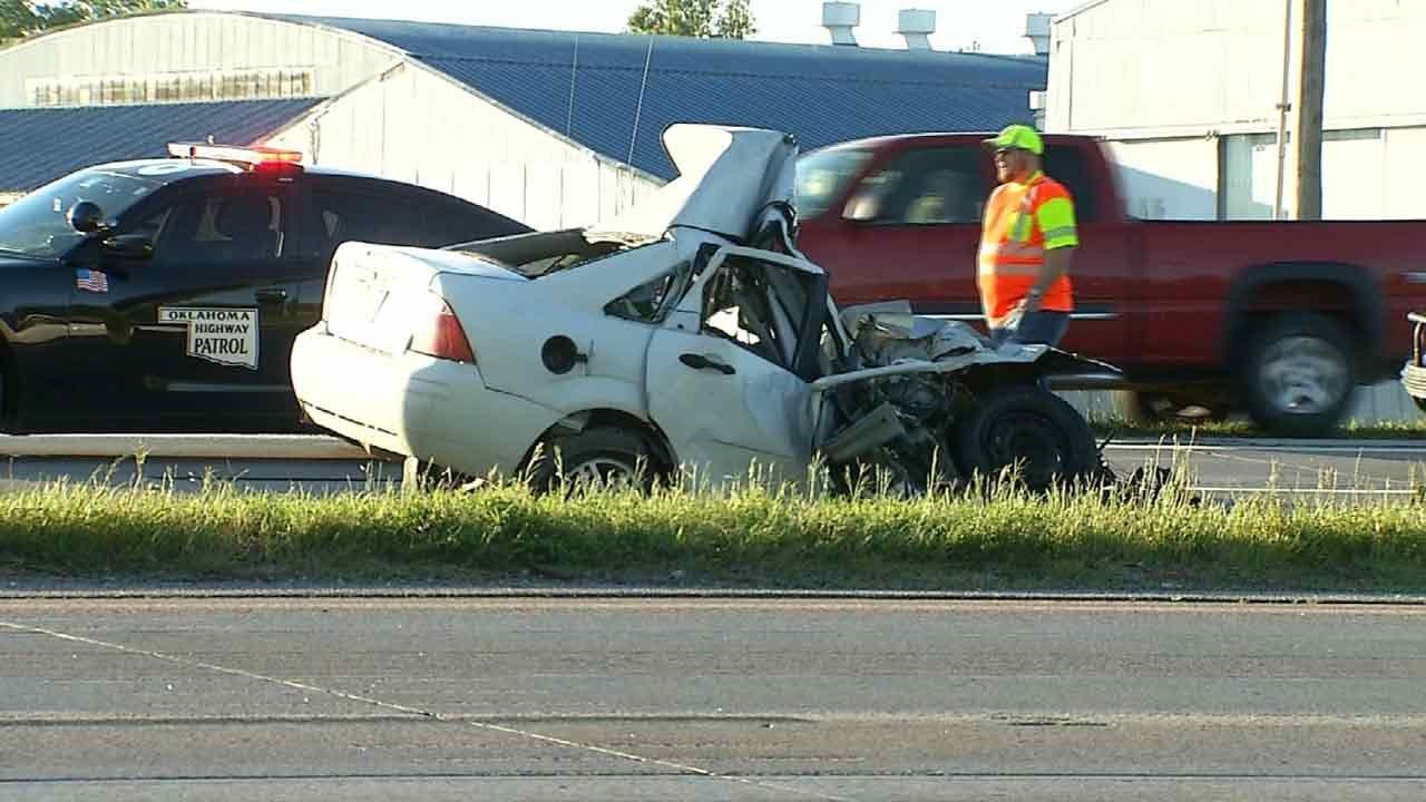 Suspect In Fatal Tulsa Chase, Crash Has Long Criminal History