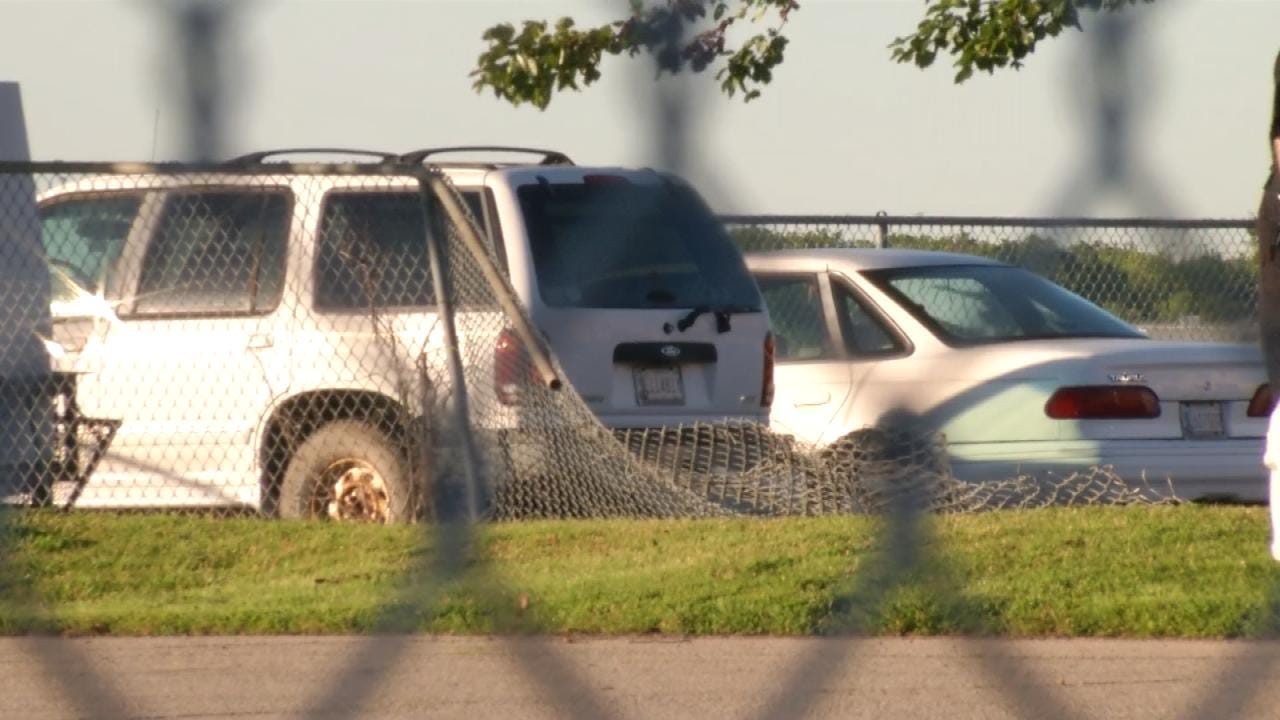 TIA Security Gate, Fence Damaged During Police Chase