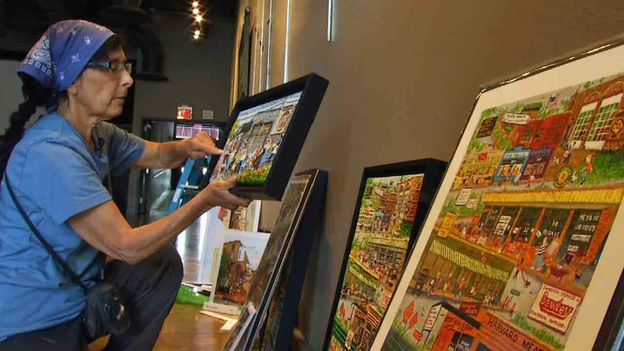 Tulsa Artist's Work On Display At Circle Cinema