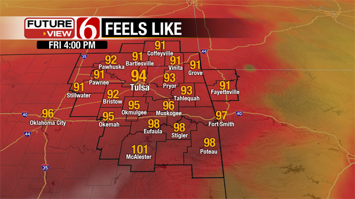 Warming Trend; Also Storms Back in the Forecast.