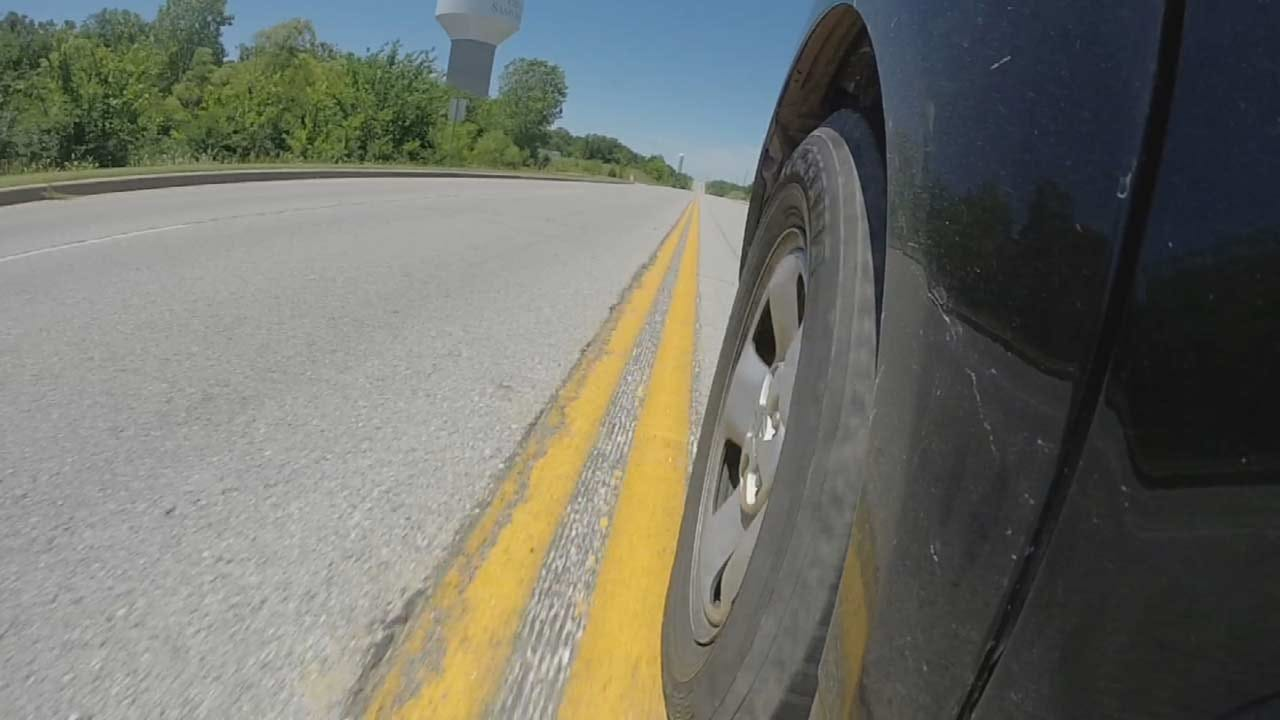 City Hopes New 'Rumble Strips' Help Save Lives In Sand Springs
