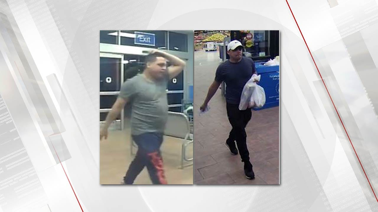 Jenks Police Try To ID Persons Of Interest In Credit Card Fraud
