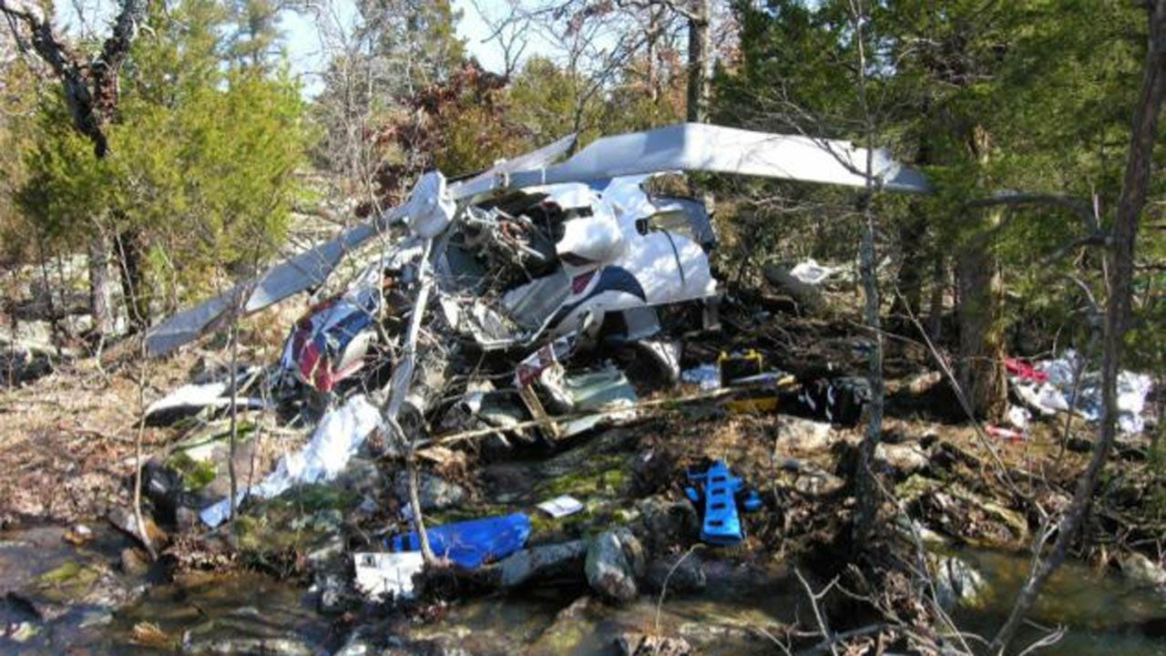 NTSB: Weather, 'Spatial Disorientation' Caused Fatal EagleMed Helicopter Crash Near Eufaula