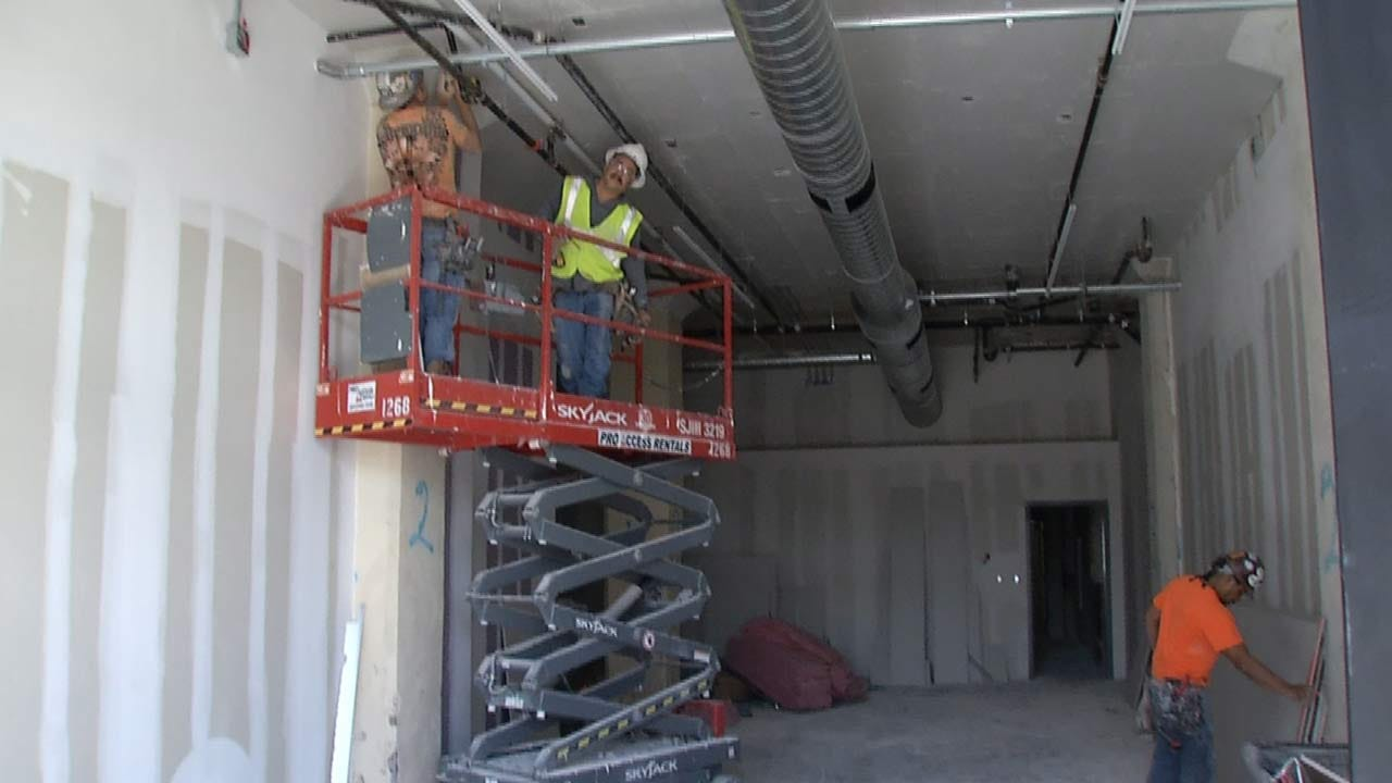 Renovations Nearly Complete In New Archer Building