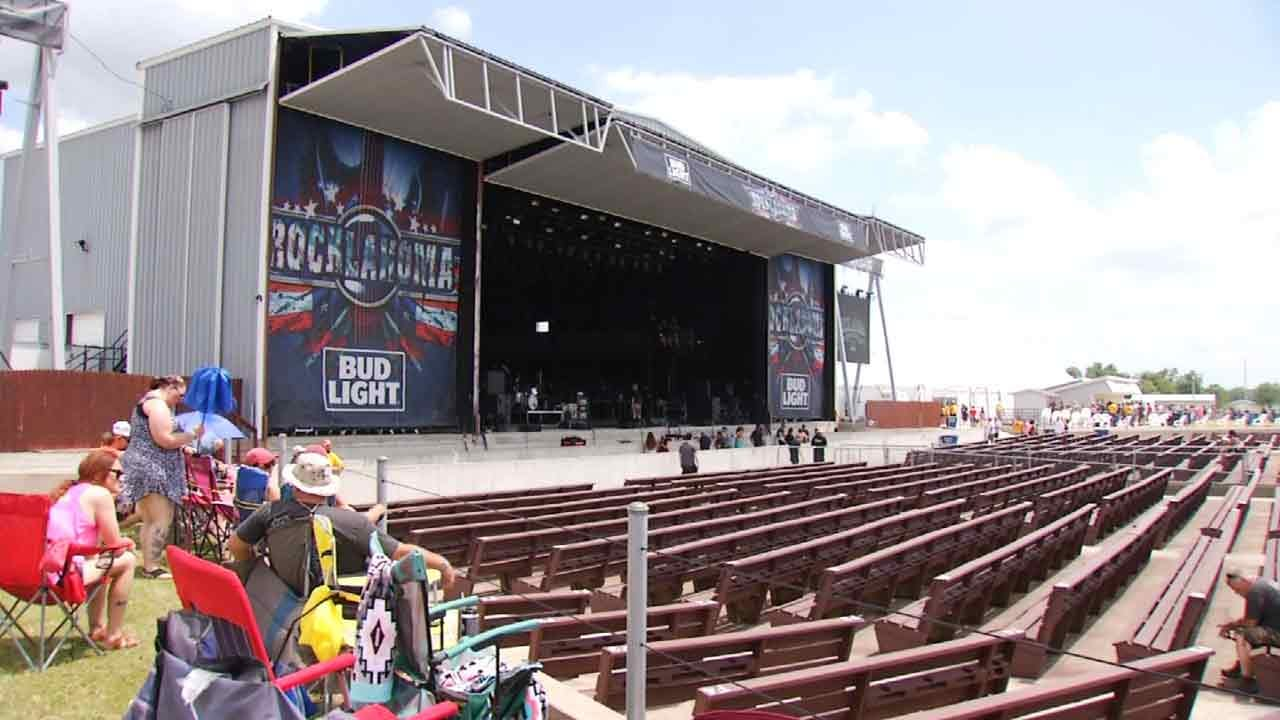 Severe Weather Plan In Place At Rocklahoma