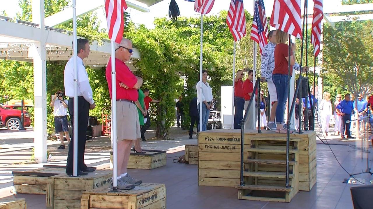 Tulsa's 'Stand To Honor' Fundraiser To Benefit 'Folds Of Honor'
