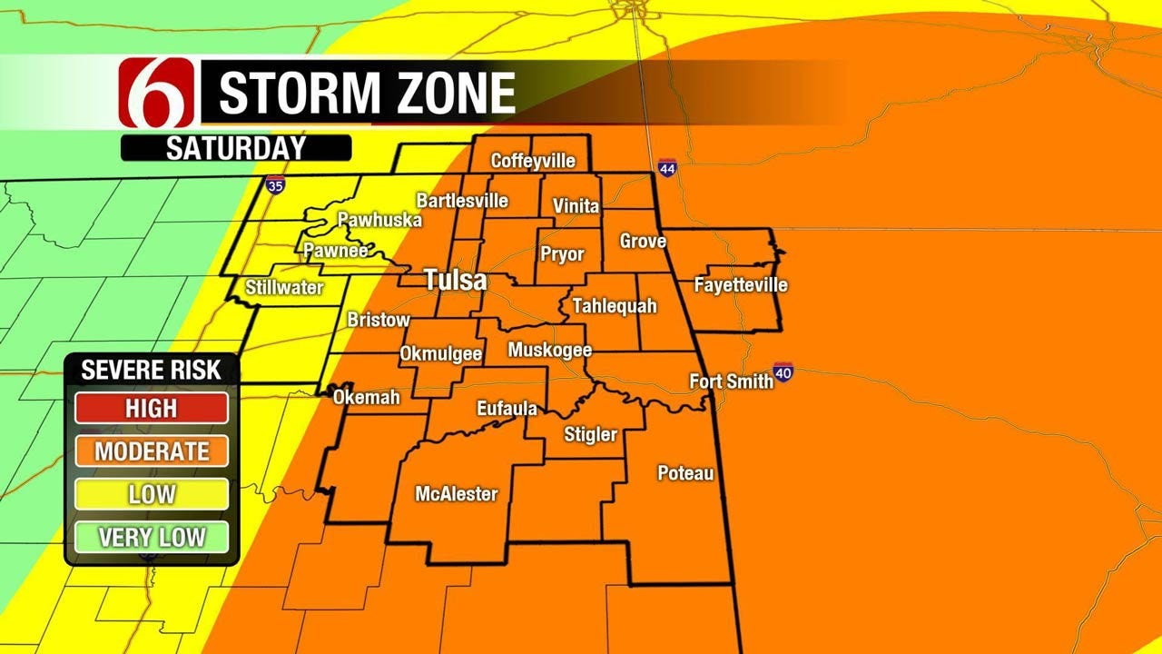 Warm And Muggy Ahead Of Weekend Storms Across Oklahoma
