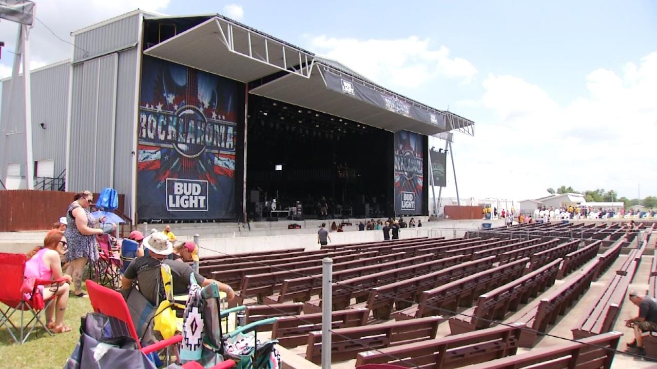 Rocklahoma Cancels Saturday's Show Due To Weather