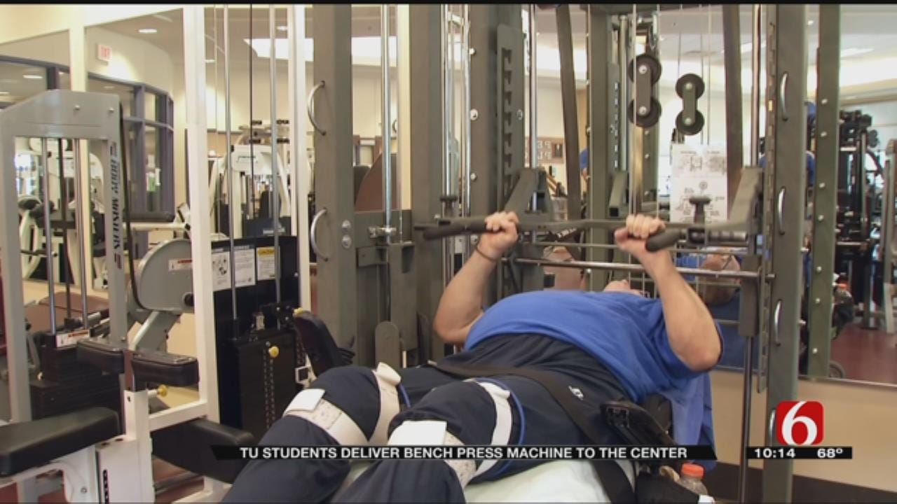 TU Students Design, Build Bench Press For Wheelchair Users