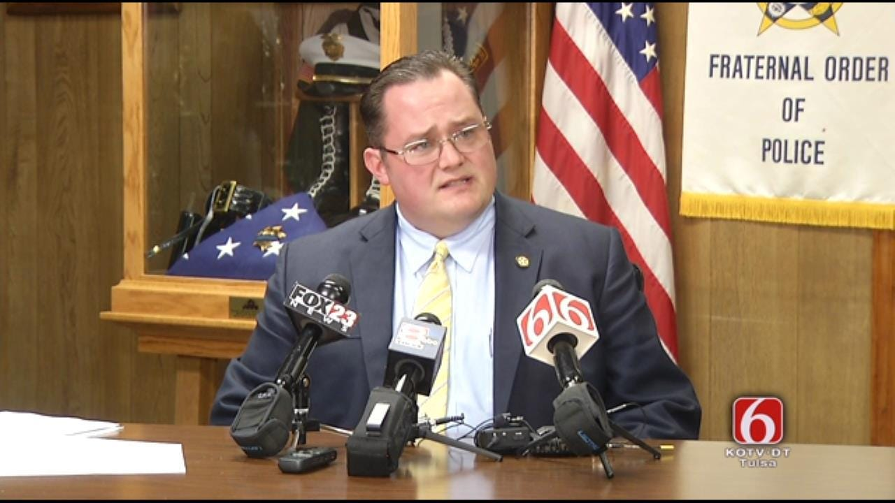 Tulsa Fraternal Order Of Police Files Grievance Against Steve Kunzweiler