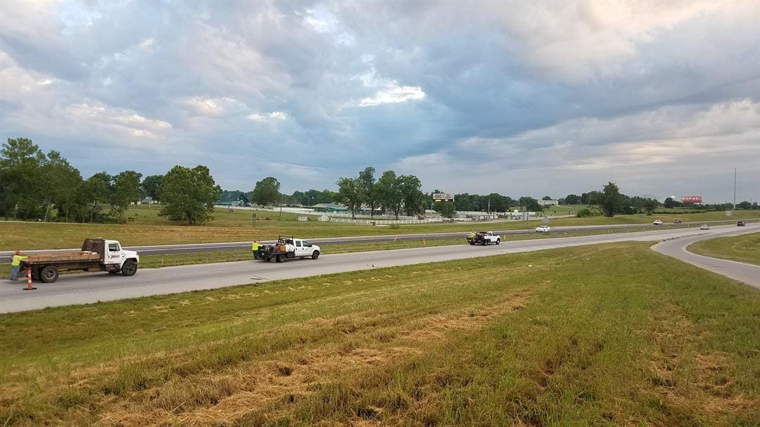 Highway 75 Work Continues, Slows Morning Commute