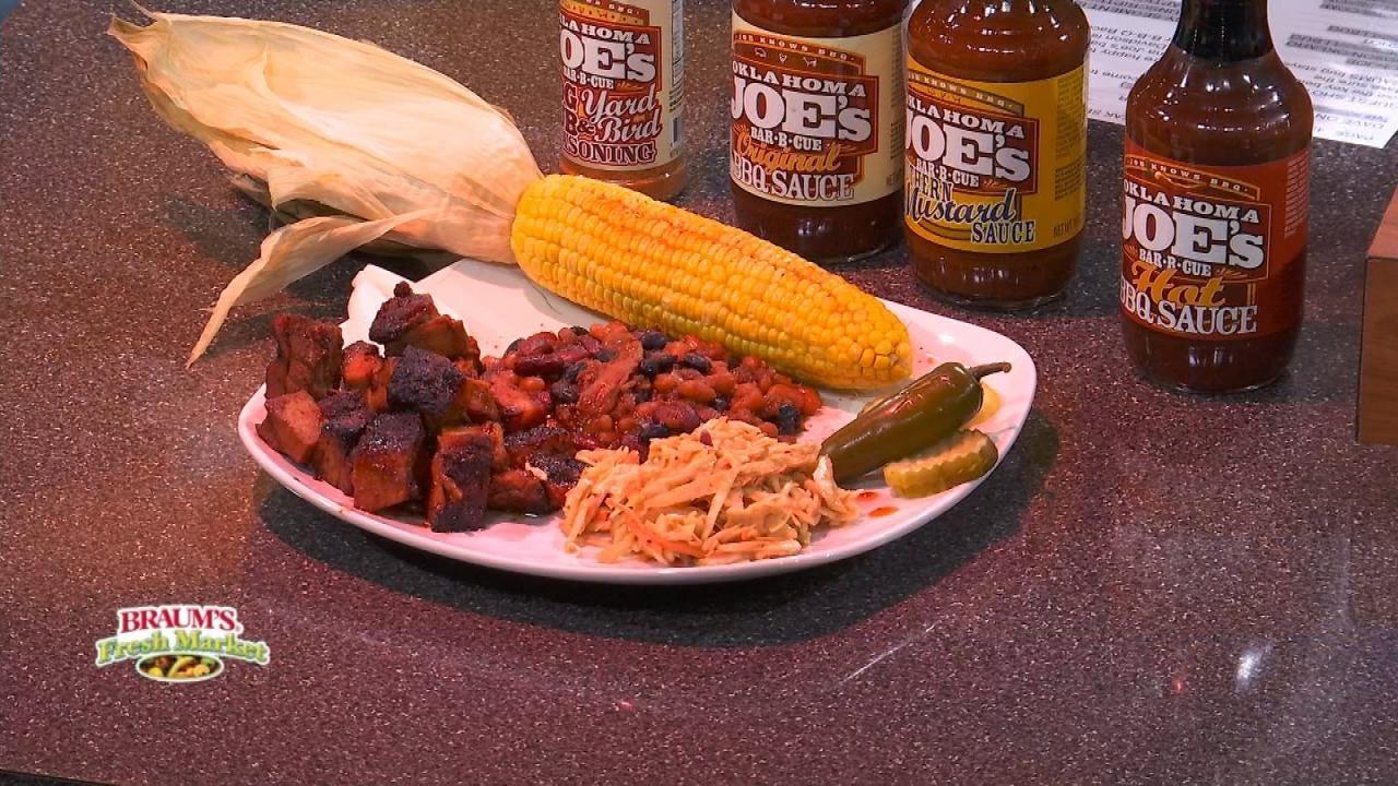 Oklahoma Joe's Barbecue Bacon (Pork Belly) Burnt Ends