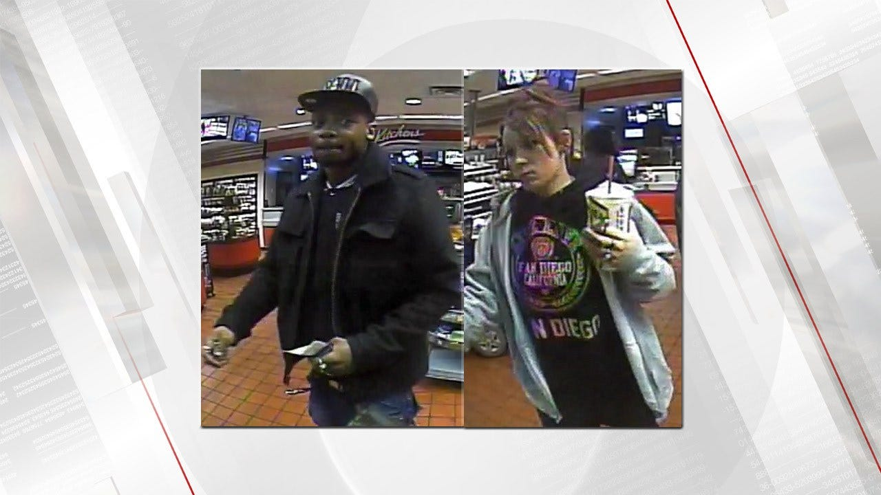 TPD Seeks Identities Of 2 People Who Used Stolen Credit Cards