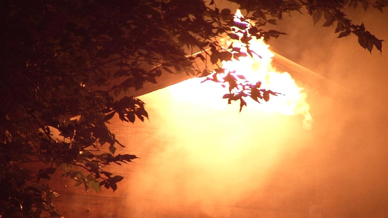Tulsa Firefighter Injured At One Of Six Suspicious Overnight Fires