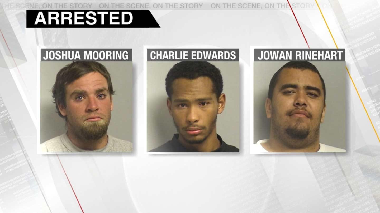 Three Jailed After Robberies At Tulsa Taco Restaurant