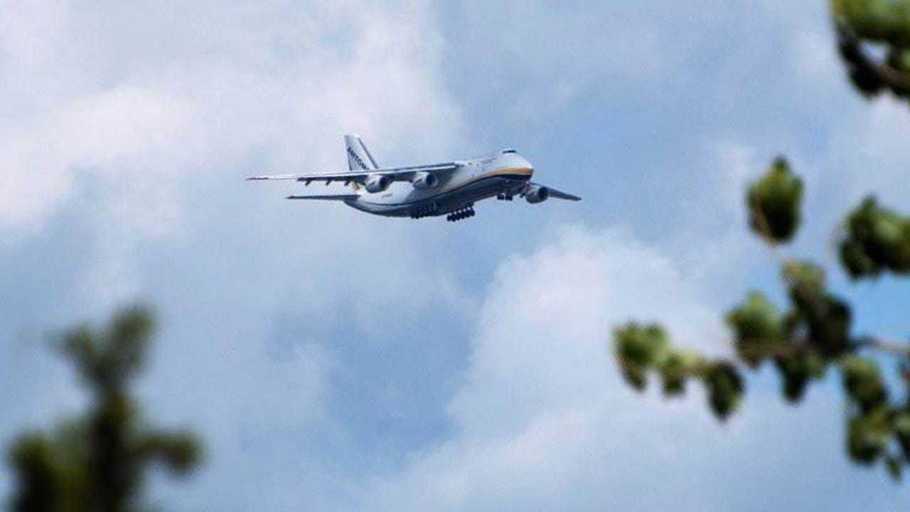 Giant Cargo Jet Visits Tulsa Again