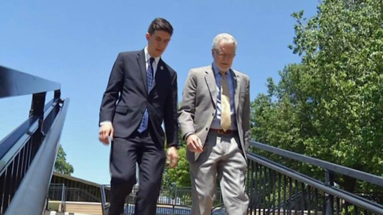 Graduation At Tulsa's Oral Roberts University, A Family Affair