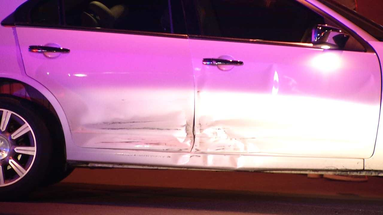 No Serious Injuries Reported In Pair Of Tulsa Accidents Overnight