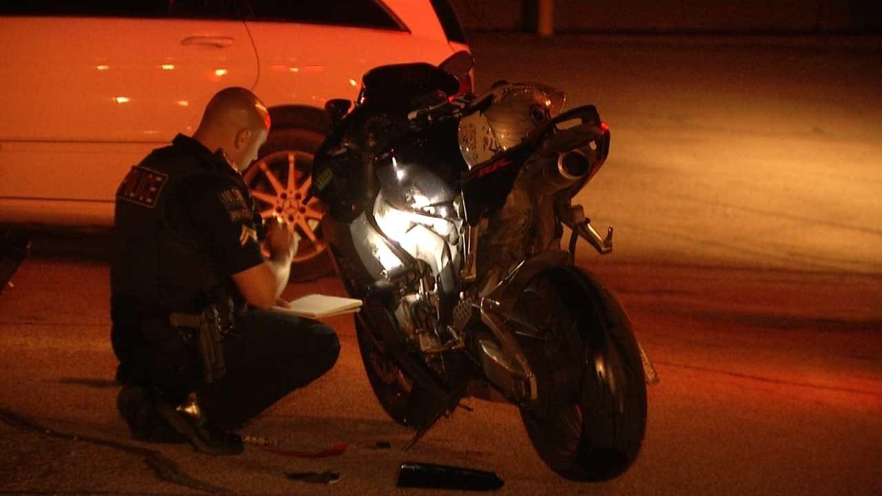 2 Tulsa Bikers OK After Motorcycles Collide