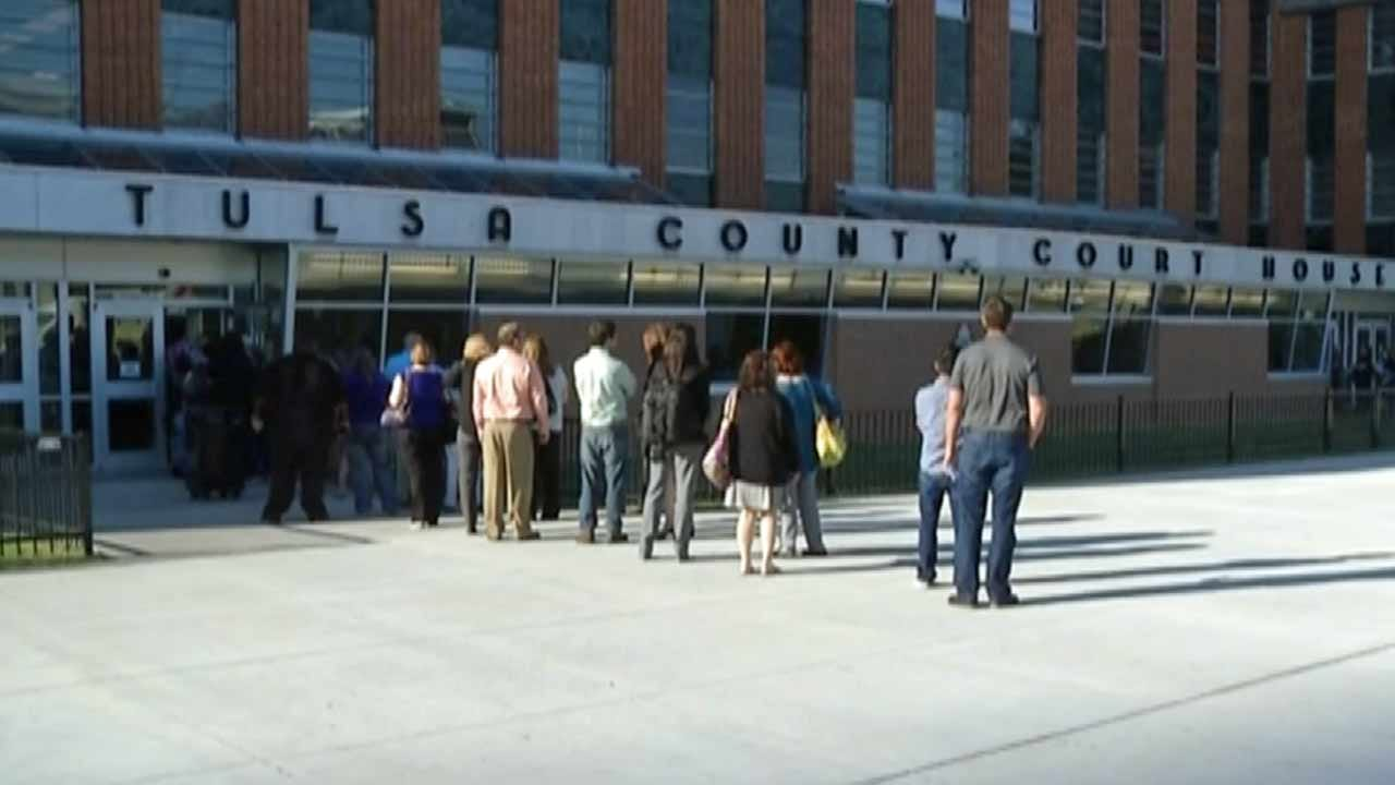 Member Of The Media Accidentally Brings Gun To Tulsa Courthouse
