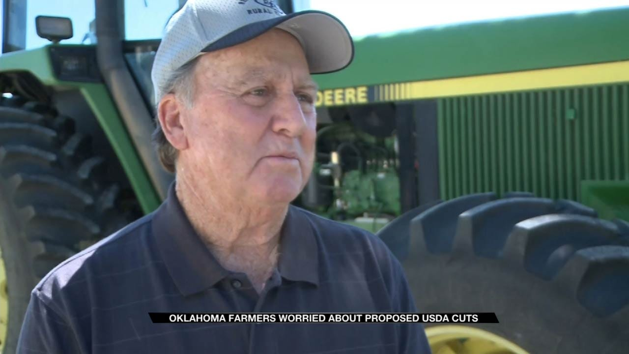 Oklahoma Farmers Concerned With Cuts To Agriculture Department