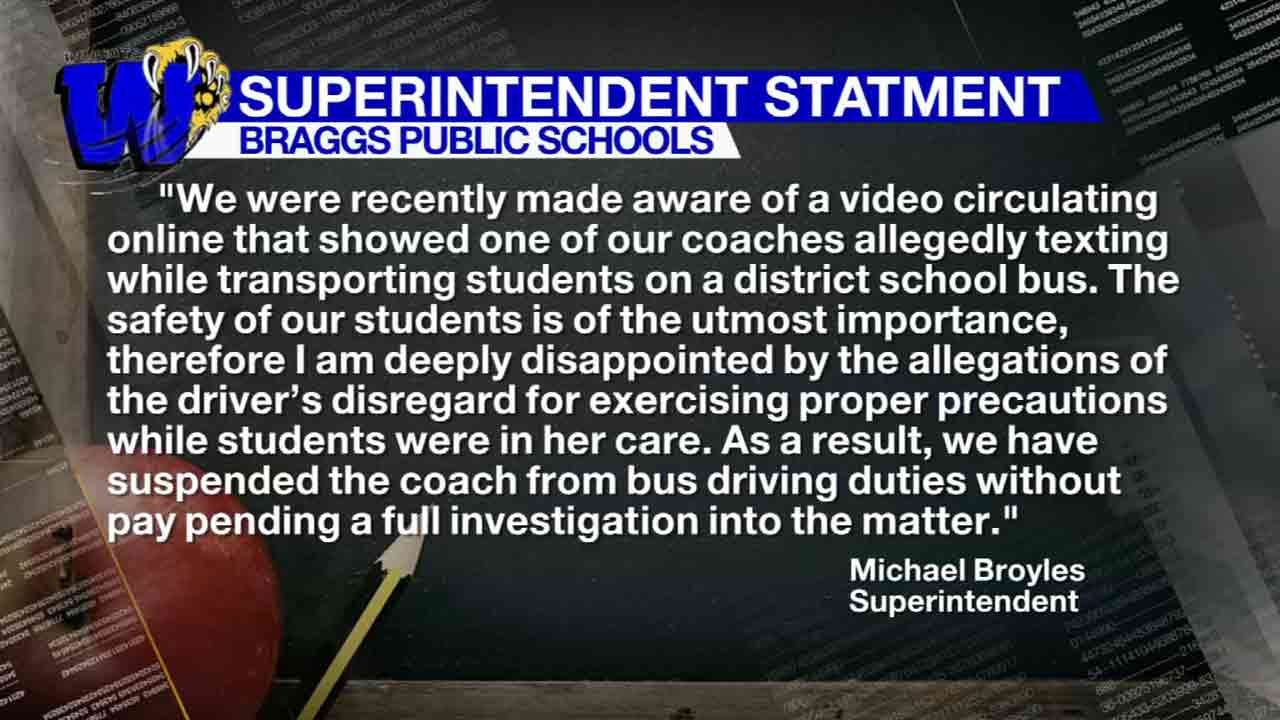 Video Prompts Investigation Into Whether Braggs Coach Was Texting And Driving
