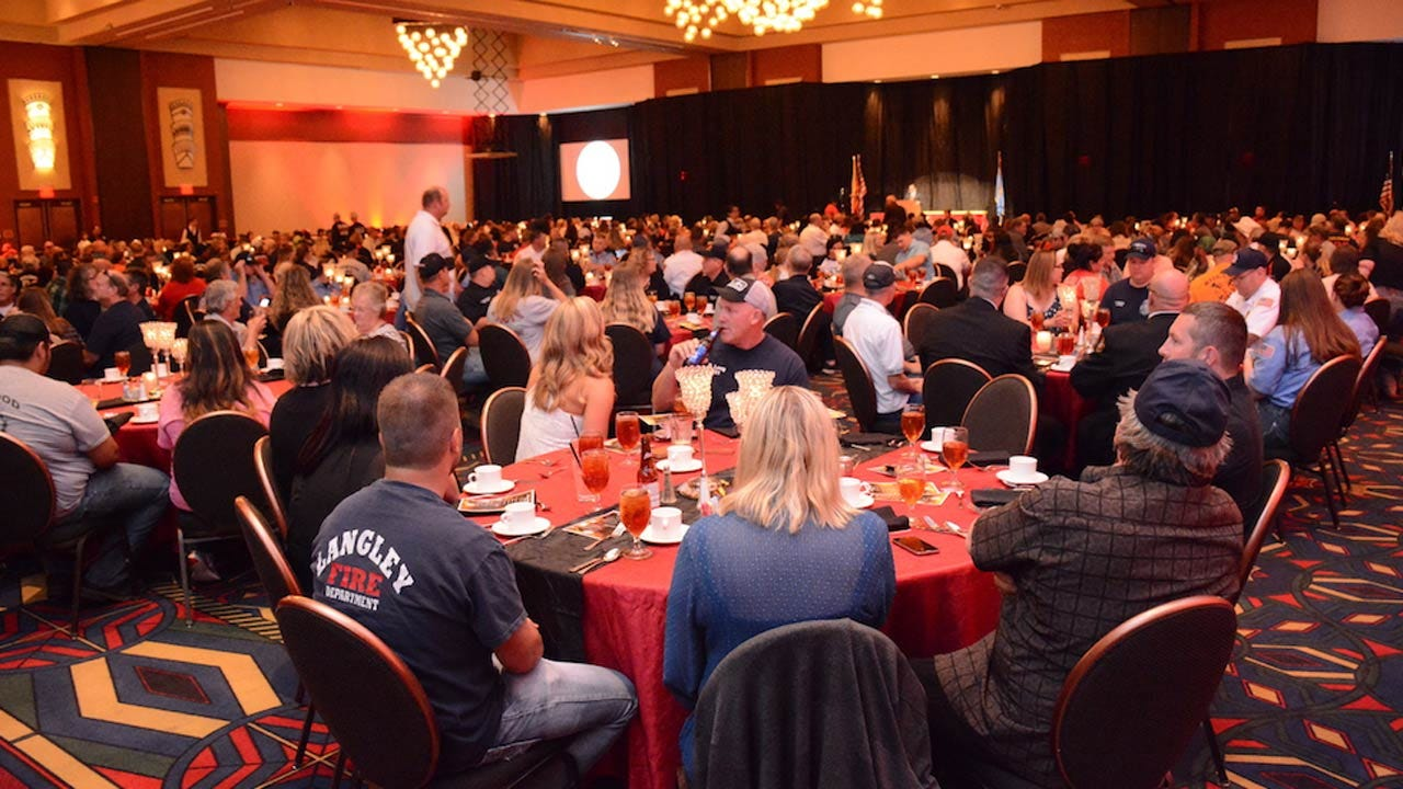 Cherokee Nation Gives Nearly Half A Million Dollars To Volunteer Fire Departments