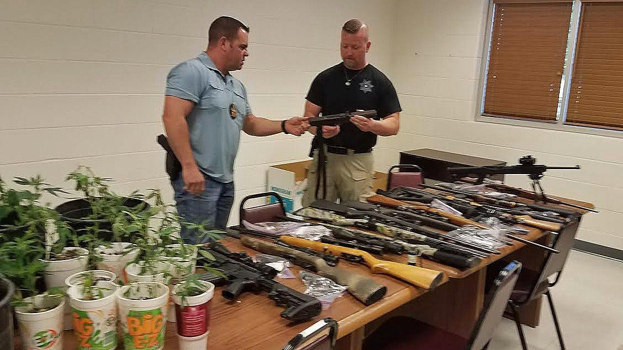 Drugs, Guns Seized In Pittsburg County Bust