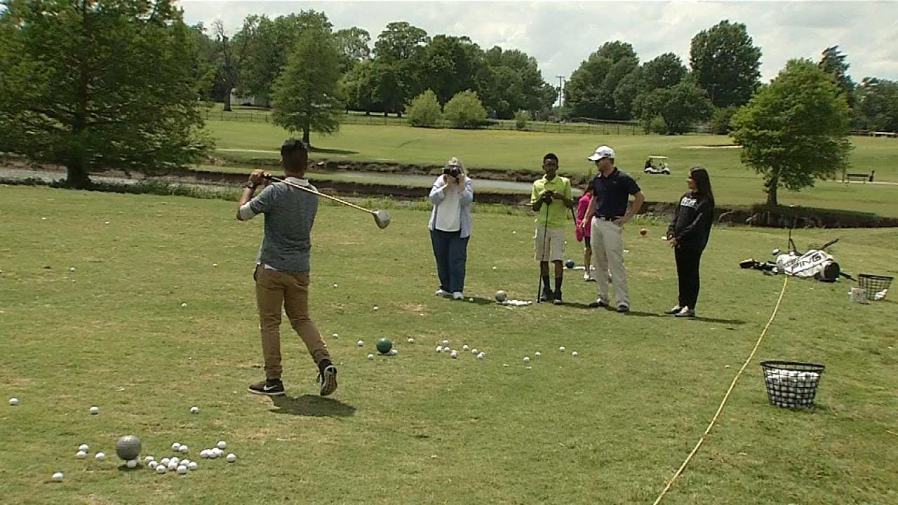 First Tee Of Tulsa, San Miguel Middle School Partner Up