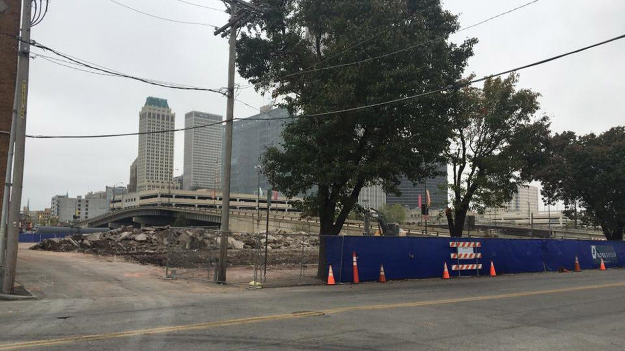 Demo Crews Clear Way For New Downtown Hotel