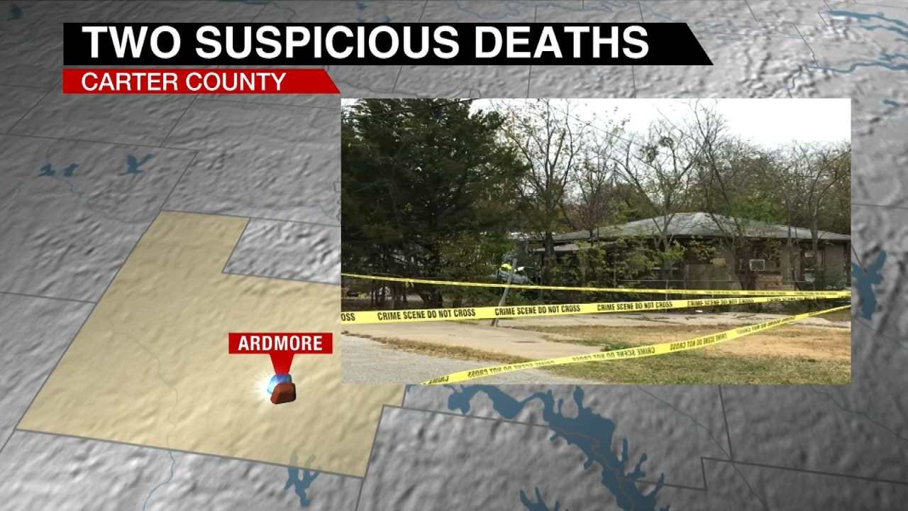 Two Bodies Found In Burned Out Car In Ardmore