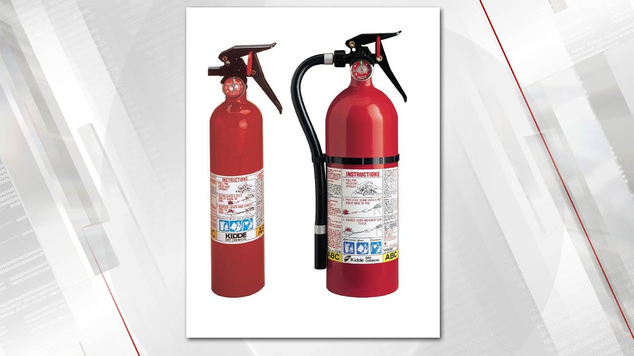 37.8M Kidde Fire Extinguishers Recalled