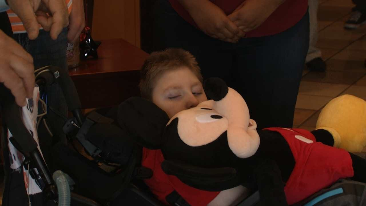 Panera Bread Sending Owasso Boy, Family To Disney World