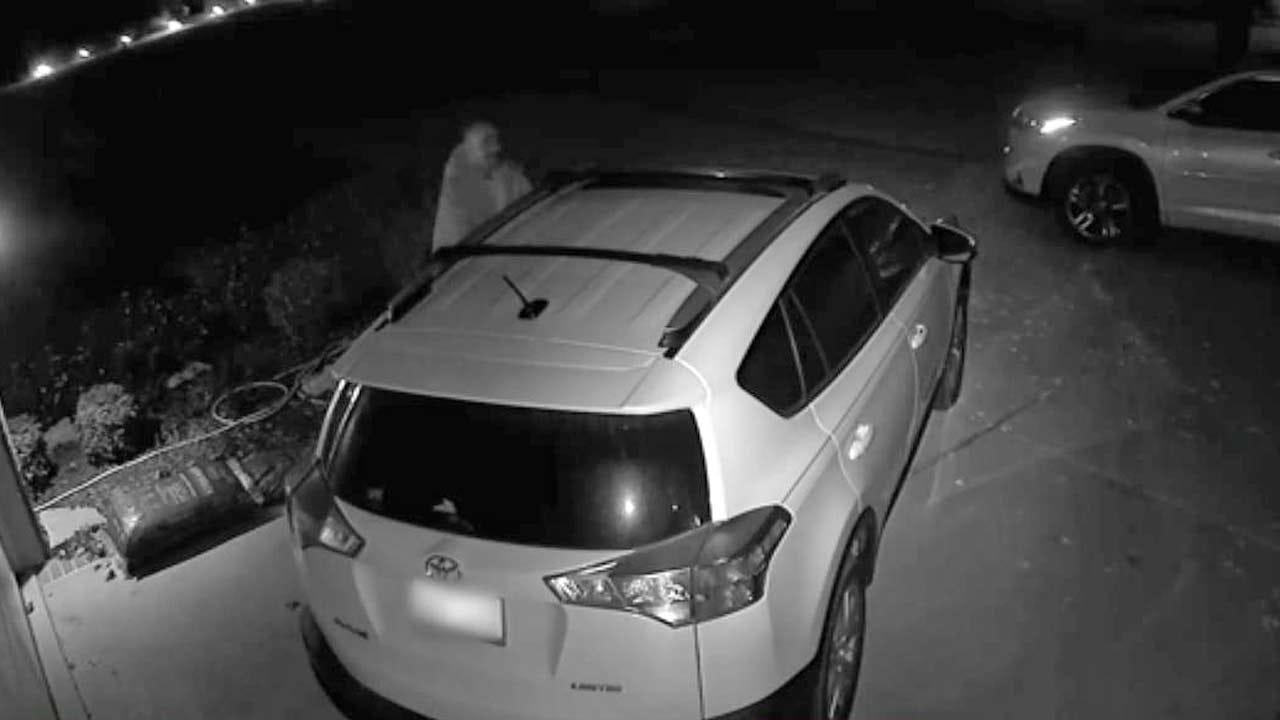 Video Captures Car Break-In At Tulsa Home