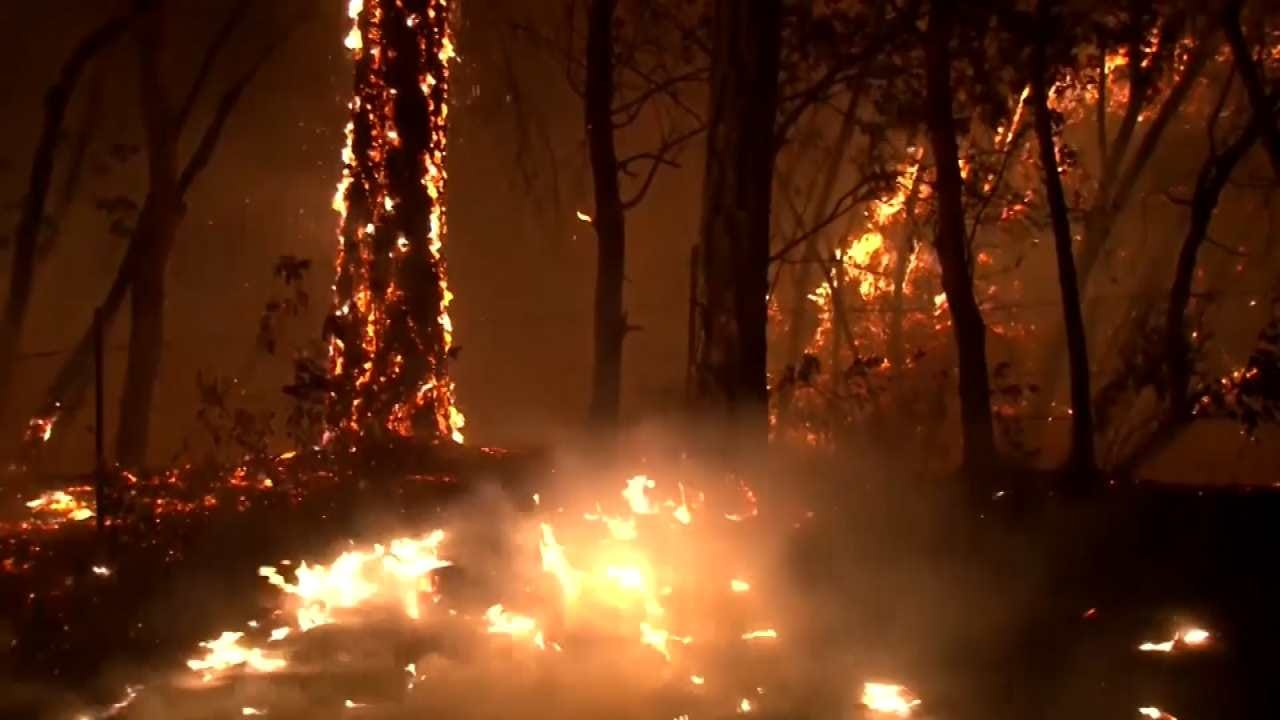 10 Killed In California Wildfires