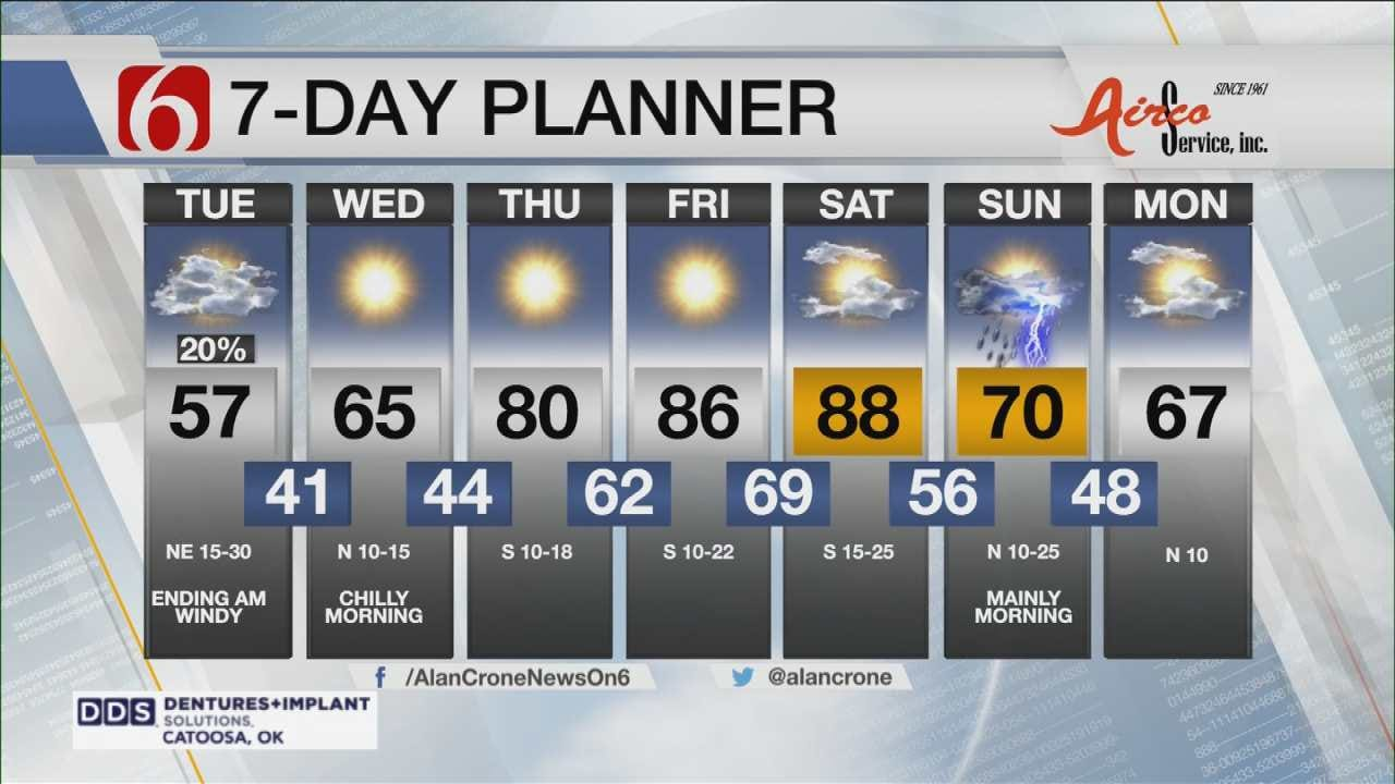 Another Taste Of Fall For Eastern Oklahoma