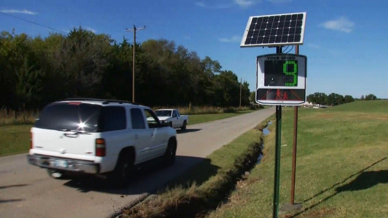 Police Use New Technology To Catch Speeders In Cleveland, Oklahoma