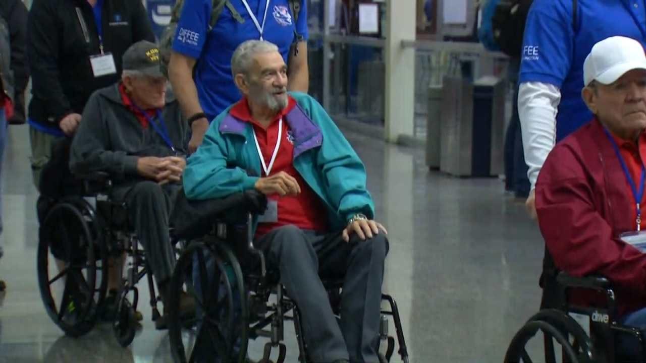 Veterans Take Part In Oklahoma Warriors Honor Flight