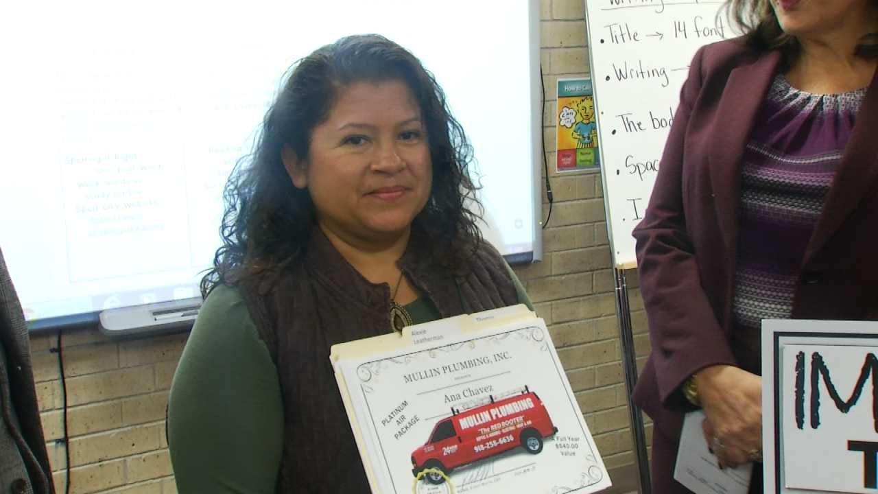 Jenks Educator Selected As News On 6 'Impactful Teacher'
