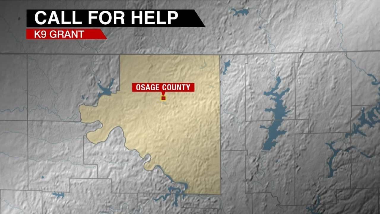 Osage County Sheriff's Office, Oologah Police Hope To Win K-9 Grant