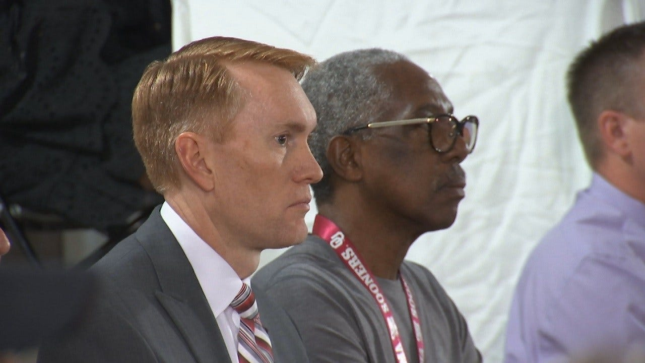 Senator Lankford Visits Tulsa For Big 10 Ballroom Celebration
