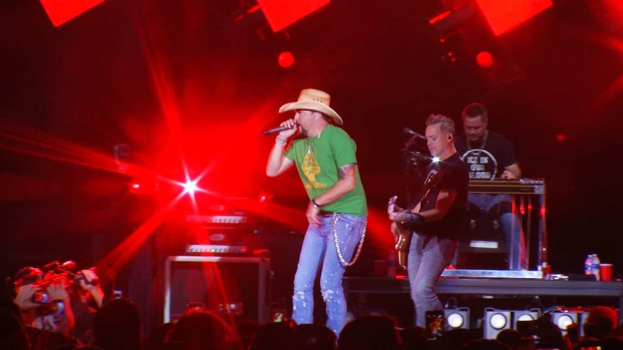 Tulsa Police Increased Presence For Aldean Concert