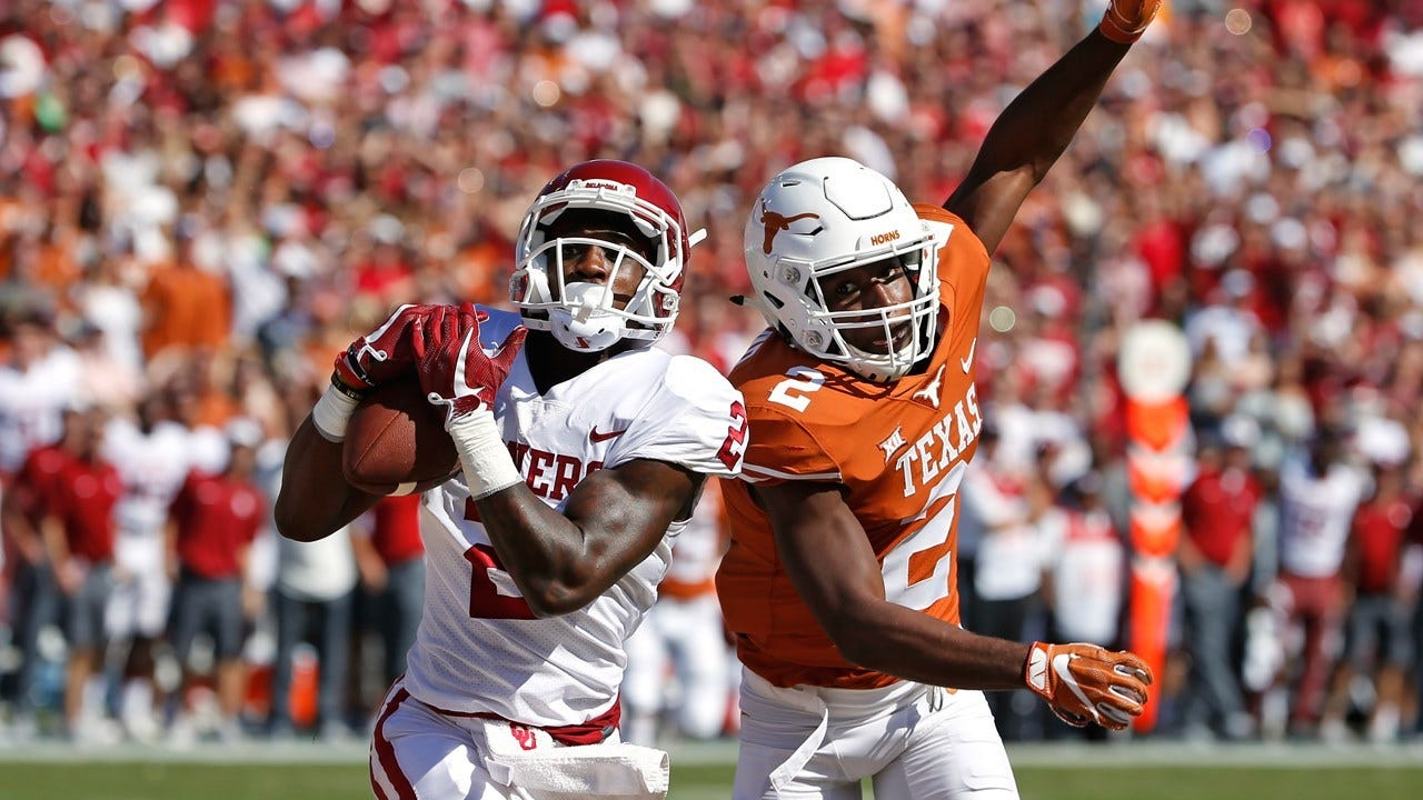 No. 12 Oklahoma Tops Texas 29-24 After Blowing 20-Point Lead