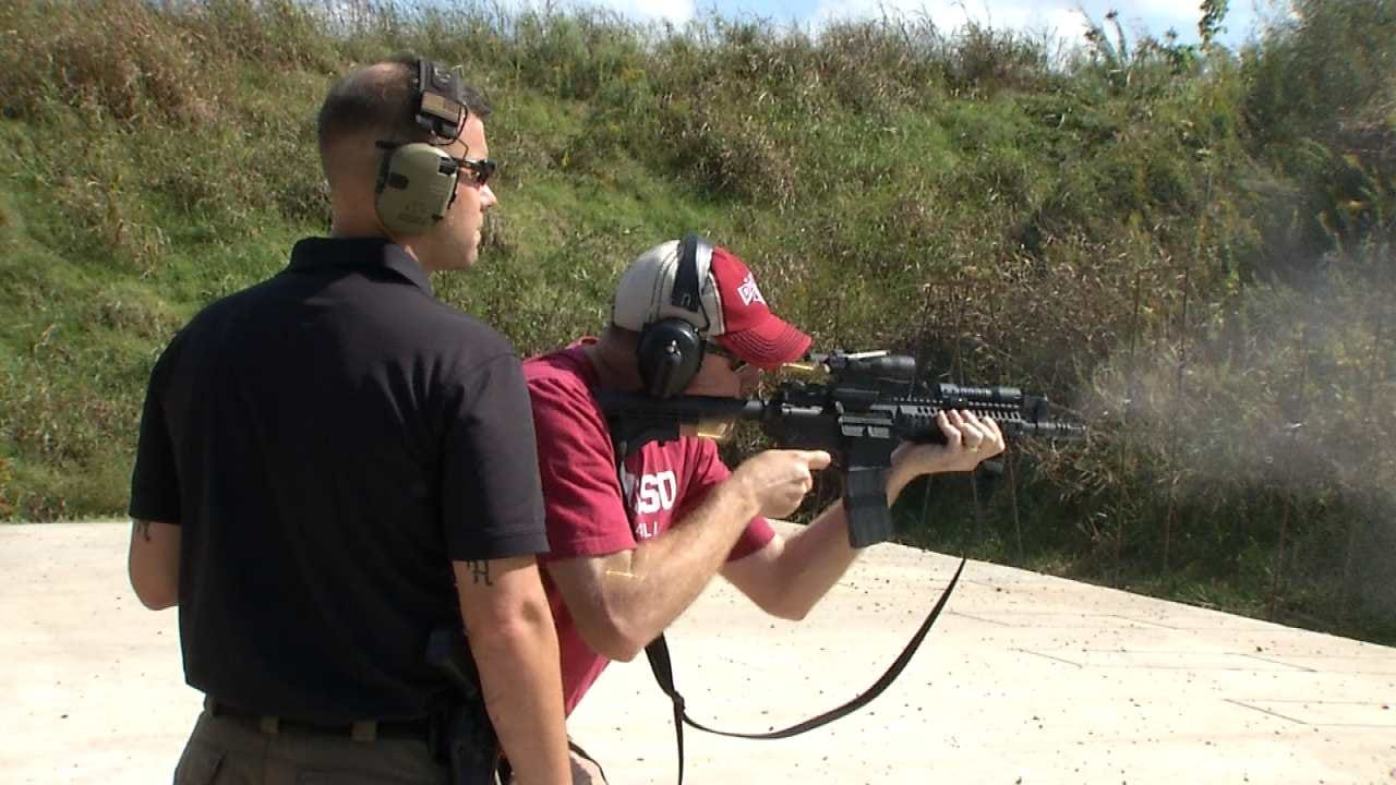 Owasso Police Holds Citizen's Academy