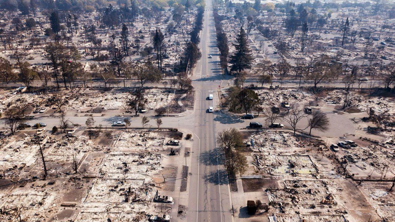 Recovery Effort Begins In Northern California After Deadly Wildfires Scorch Region