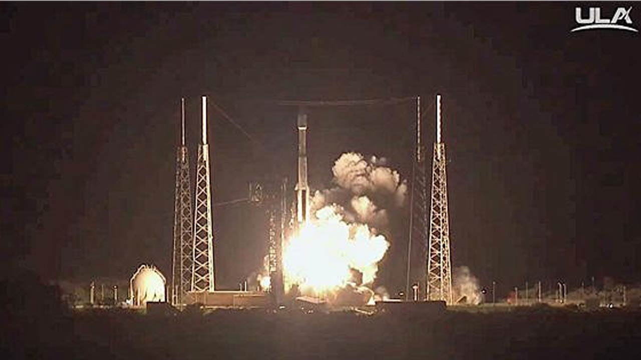 Fifth Time's The Charm For Atlas Rocket And NRO