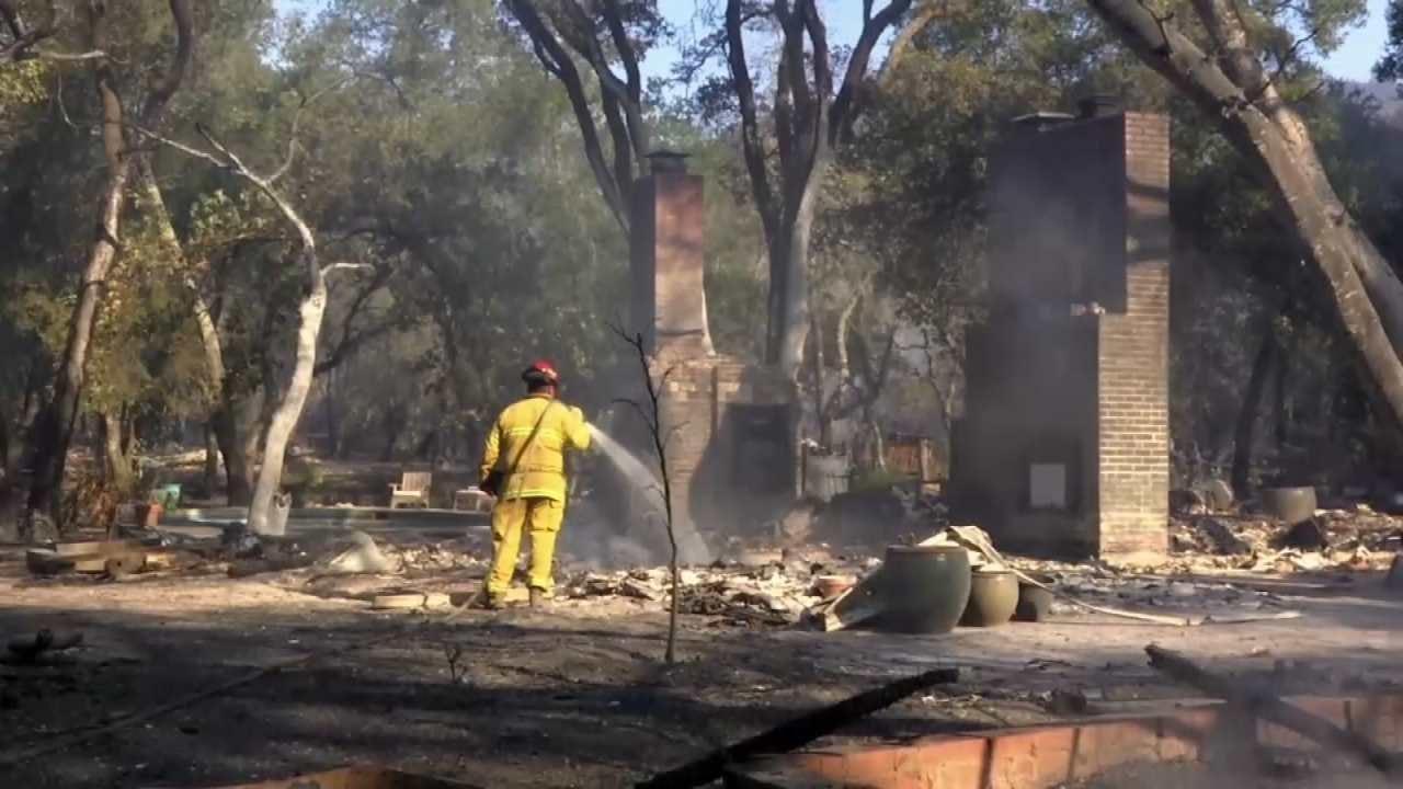 California Making Progress In Wildfire Fight