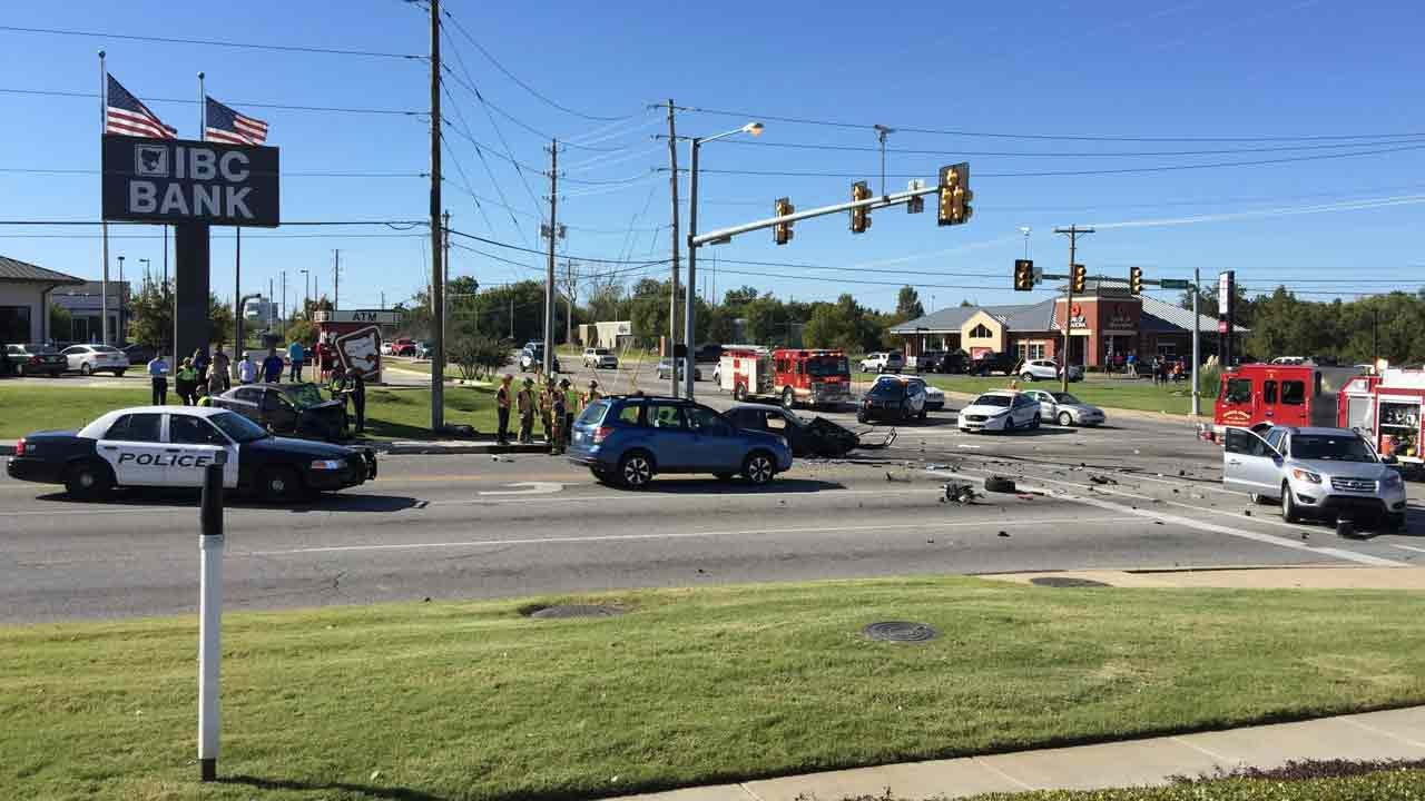 Driver Speeds From One Crash And Causes Another, BAPD Says